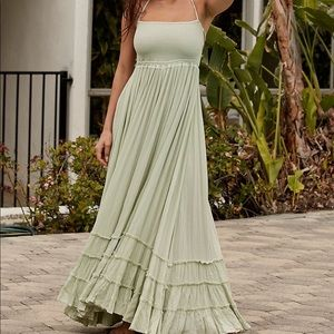 Extratropical free people maxi